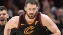 Watch Kevin Love, LeBron James Team For Ridiculous Outlet Pass And Score