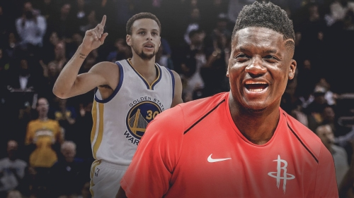 Clint Capela isn't worried about Stephen Curry's 35-point night