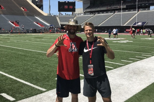 4.5-star punter Kyle Ostendorp commits to Arizona