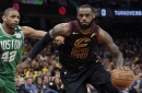 LeBron James scores 44 as Cleveland Cavaliers even series with Boston Celtics in Game 4