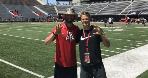 Arizona lands commitment from punter Kyle Ostendorp hours after offer