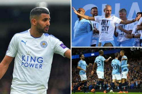 Man City transfer news LIVE Riyad Mahrez news and fixture latest