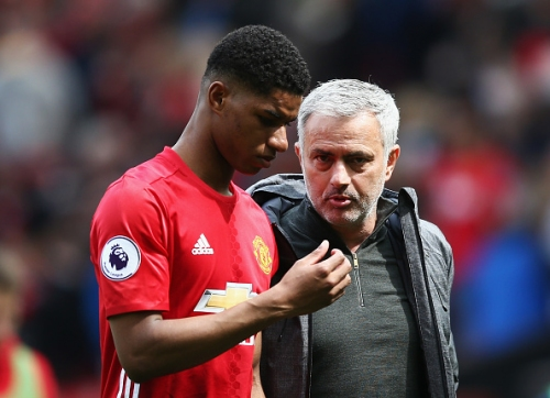 Jose Mourinho annoyed with Marcus Rashford after Manchester United's FA Cup final defeat