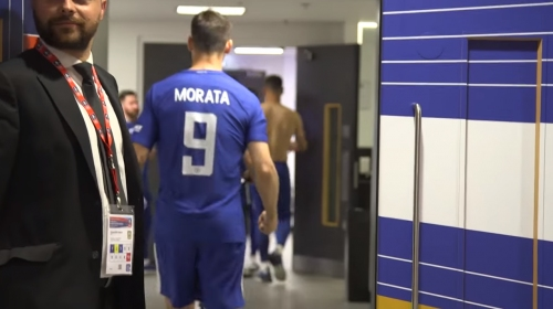 Alvaro Morata screams at Manchester United to 'suck our d***s' after Chelsea win FA Cup final