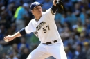 Brewers top D'Backs 4-2 behind Chase Anderson, homeruns