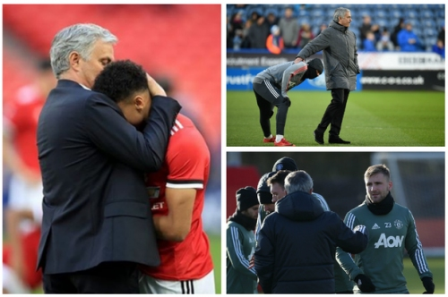The photo that will give Manchester United players added motivation