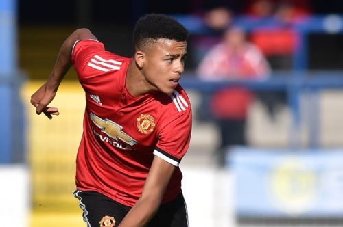 Manchester United wonderkid Mason Greenwood's meteoric rise continues