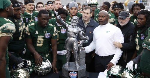 Florida, USF agree to 3-game football series to be played over next decade