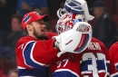 How does Niemi's contract affect the Habs goalie situation?