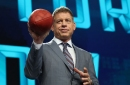 Troy Aikman joins the Panthers for part of OTAs