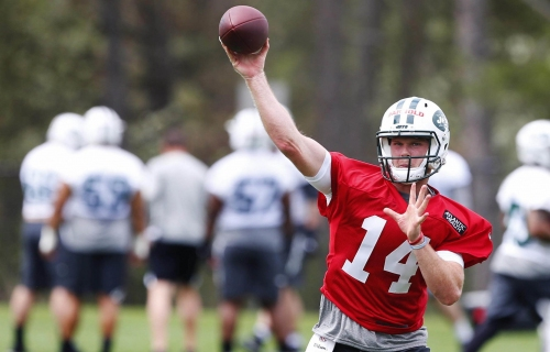 WATCH: Sam Darnold highlights from Day 1 of Jets OTAs