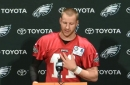 Carson Wentz talks recovery and leadership in first Eagles OTA media session