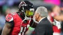 Blank on Julio Jones: 'It's just a process'