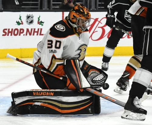 Ducks announce Ryan Miller has wrist surgery, hire Marty Wilford as assistant coach