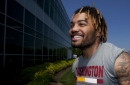 Derrius Guice learning about pro life: 'A lot of long days'
