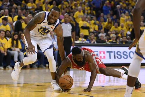 NBA playoffs: Warriors upgrade Andre Iguodala to questionable for Game 4 vs. Rockets