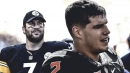 Steelers QB Ben Roethlisberger embracing mentor role for rookie QB Mason Rudolph