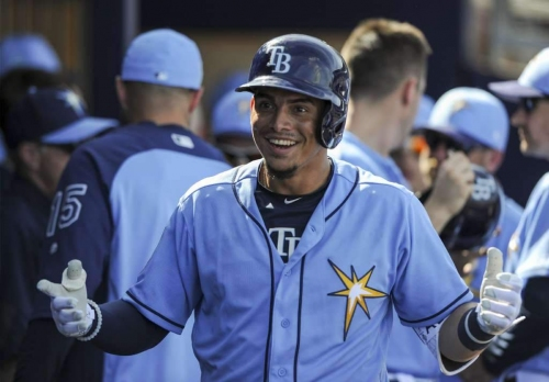 Rays call up top prospect Willy Adames : for now