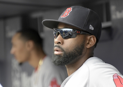 Jackie Bradley Jr. in Boston Red Sox lineup vs. Rays; Sandy Leon (.318 average in May) catching Chris Sale