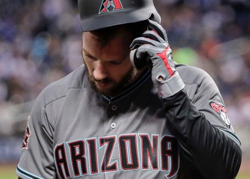 Arizona Diamondbacks place Steven Souza Jr. on disabled list for second time