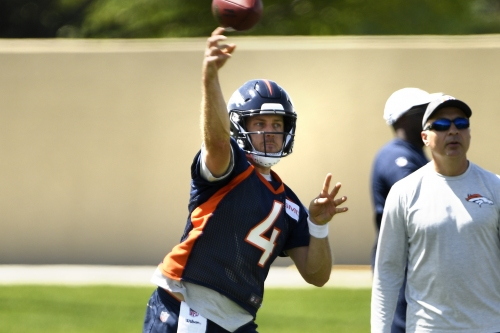 Kiszla: This little blue box will reveal in big way if Case Keenum can handle being the QB for Broncos