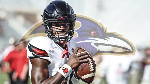 Ravens QB Lamar Jackson makes Baltimore debut at OTAs