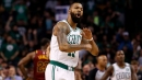 NBA Struggles Twice To Explain Marcus Morris' Offensive Foul On Kevin Love