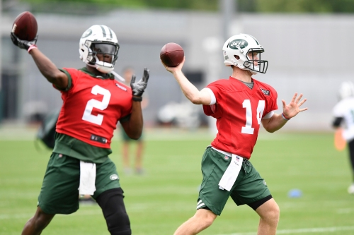 Teddy Bridgewater looks good in first Jets practice, what about Sam Darnold?