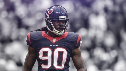 Texans Pro Bowler Jadeveon Clowney misses start of OTAs to continue knee rehab