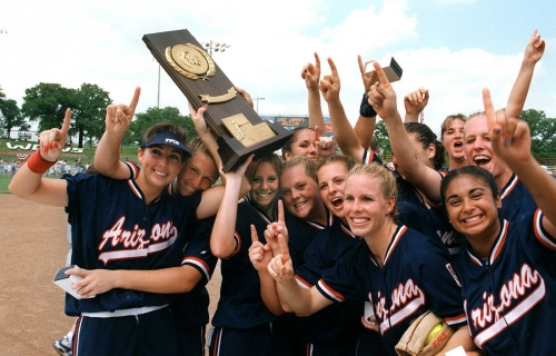Arizona softball 1997 national championship