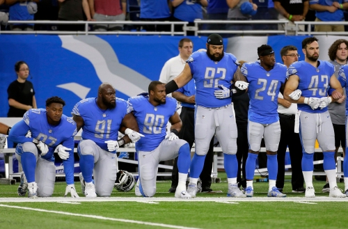 NFL national anthem debate continues as owners fail to reach consensus