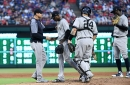 Gary Sanchez, Aaron Boone exit early in Yankees loss at Texas