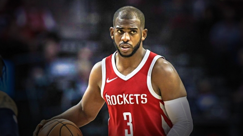 Video: Chris Paul tells fan 'bite me' after taunt from the stands