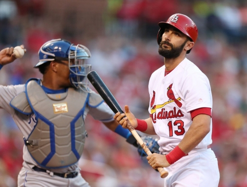 Cards hit nothing but singles, lose to Royals