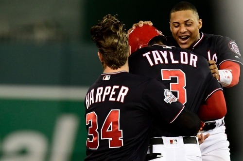Michael A. Taylor hits walk-off double to lift Nationals to 2-1 win over Padres...