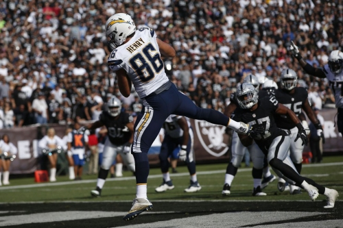 Chargers tight end Hunter Henry likely lost for the season with torn ACL