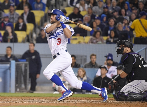 Back-to-back home runs lift Dodgers over Rockies