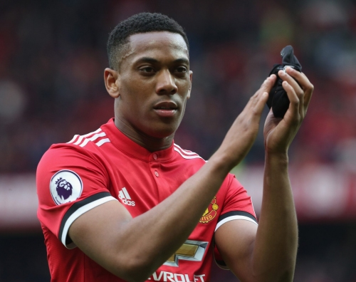 Manchester United willing to sell Anthony Martial but won't allow him to join Chelsea, Arsenal or Tottenham