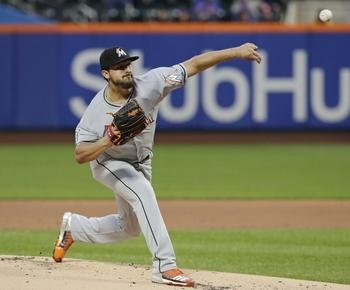 Smith pitches Marlins over newcomer Bautista, Mets 5-1