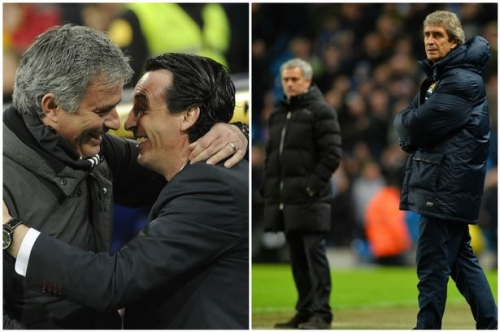 What Manchester United manager Jose Mourinho has said about Unai Emery and Manuel Pellegrini