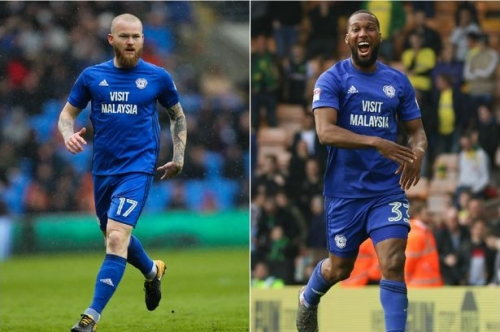 Cardiff City stars Aron Gunnarsson and Junior Hoilett given days to sign new contracts as another Bluebird is released