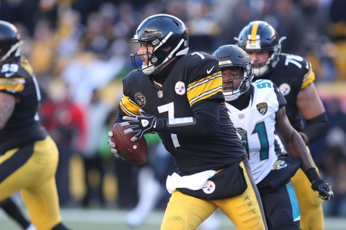 Paying homage to the plays which gave Ben Roethlisberger the nickname 'Big Ben'