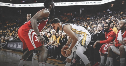 Rockets hold Warriors to worst-shooting quarter of the season