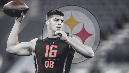 Steelers agree to terms with QB Mason Rudolph on rookie contract