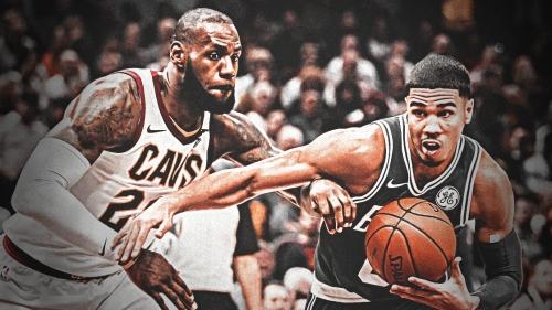 LeBron James praises rookie Jayson Tatum