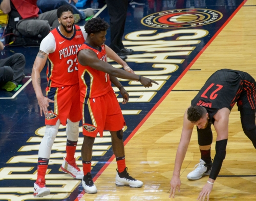 Pelicans' Anthony Davis, Jrue Holiday named to NBA's All-Defensive first team