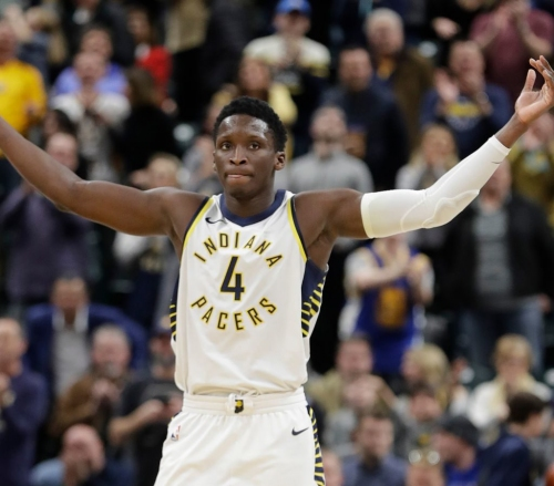 Pacers Star Victor Oladipo Named to NBA's All-Defensive First Team