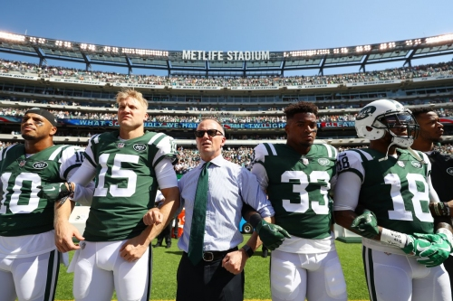 Chris Johnson says Jets won't fine players for anthem protests