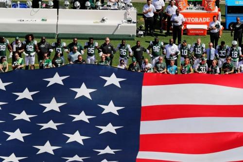 NFL national anthem: Jets' Christopher Johnson won't fine players for kneeling