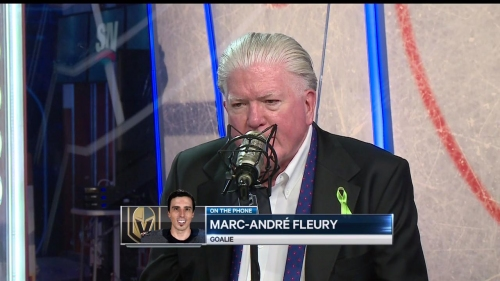 Burke apologizes to Fleury on air for doubting his ability